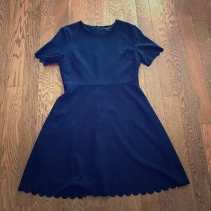Navy Work Dress -size 6- Banana Republic Outlet